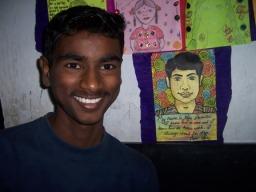 Raju, an Akanksha student I interviewed