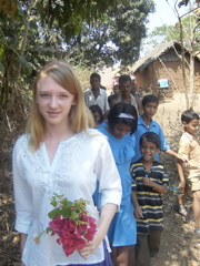 Chandler in India, 2006