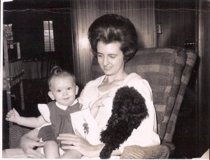Me and my mom, back in the day